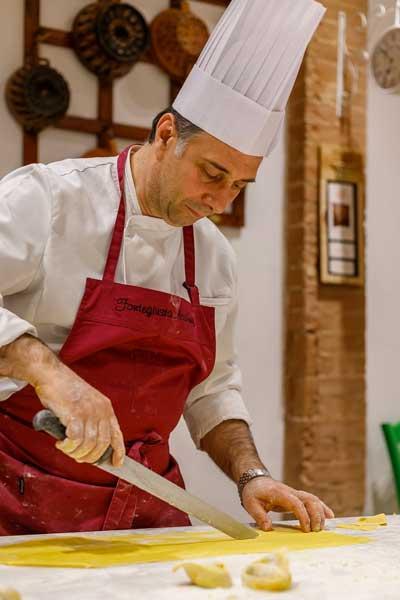 Chef Giuseppe Chiarelli Fonte Giusta Academy Siena